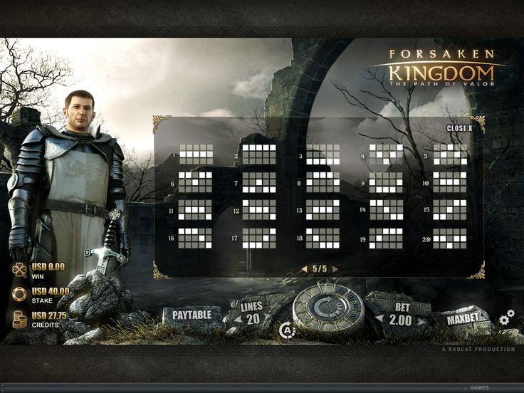 Forsaken Kingdom Online Slot Game - play now Wintingo online casino