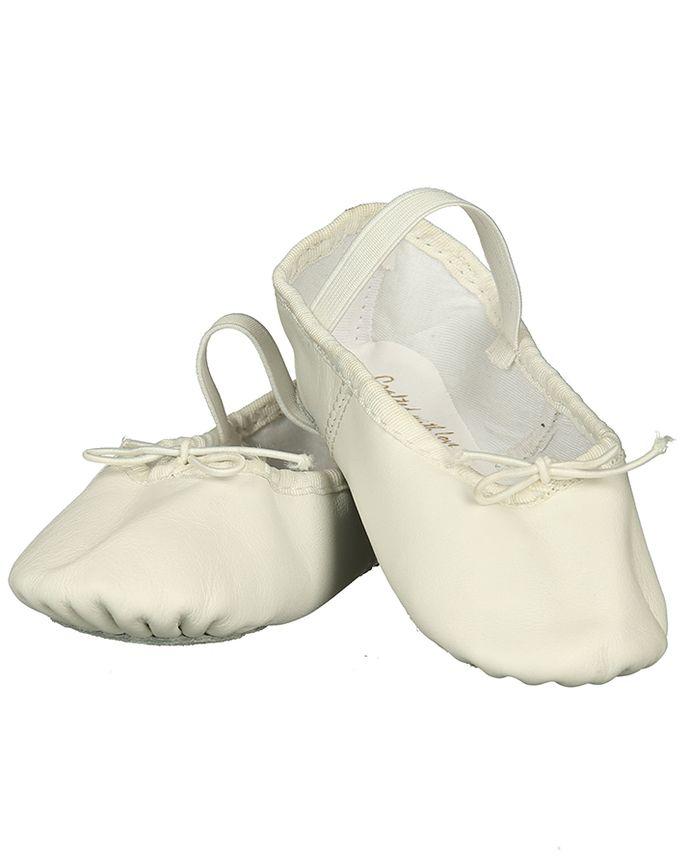 Ballett Schläppchen STAR in weiß