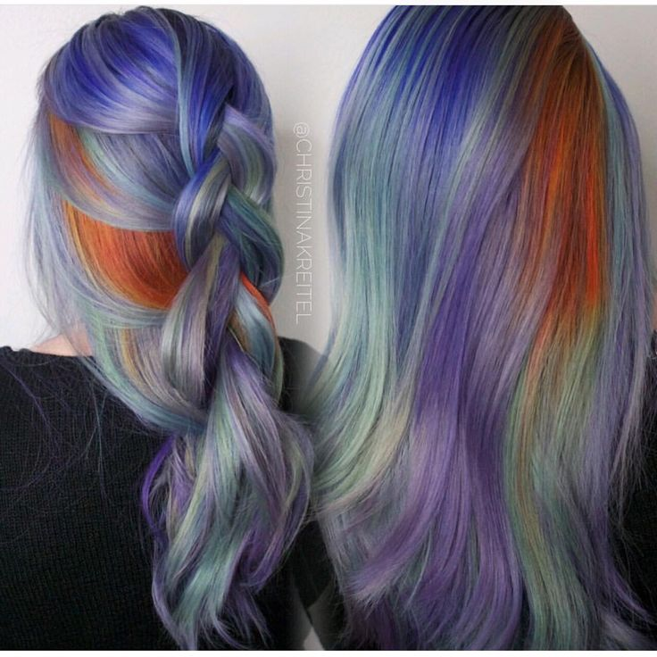 unique hair colors and styles 355 best images about mermaid unicorn rainbow hair on 5762