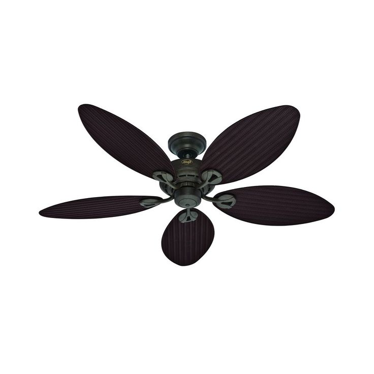 Best 25 ceiling fans without lights ideas on pinterest ceiling hunter fan company bayview provencal gold ceiling fan without light aloadofball Image collections