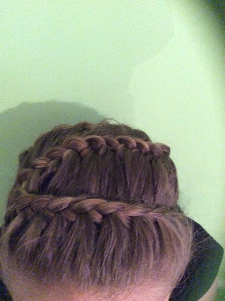 Fun snake French braid