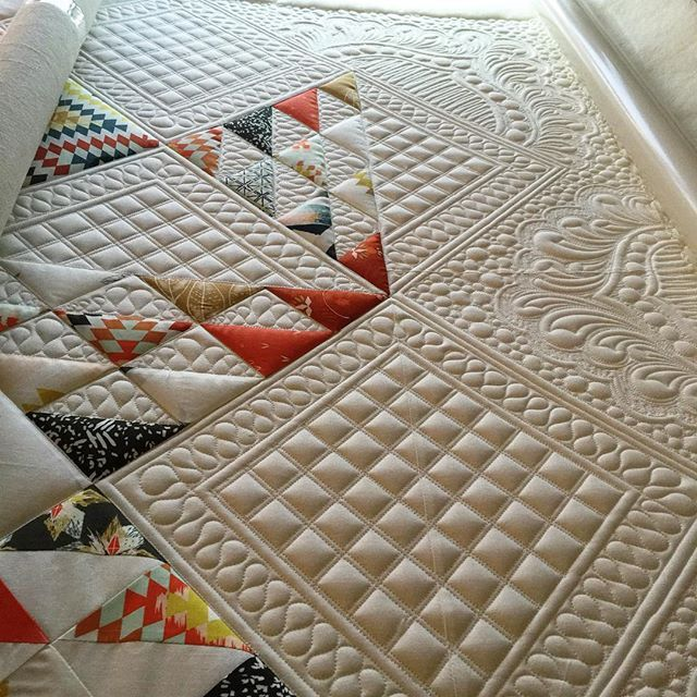 Sometimes I do dumb things. Like spend 42x as long quilting as I did piecing…