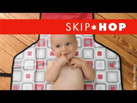 Skip*Hop Pronto Changing Station - we LOVE this! Fits 2 or 3 cloth diapers, a wipes carrier (that we load with about 4 cloth wipes), and has another pocket for the other products you use when diapering. I hook it on to my purse for our outings or put into our big diaper bag for longer trips.