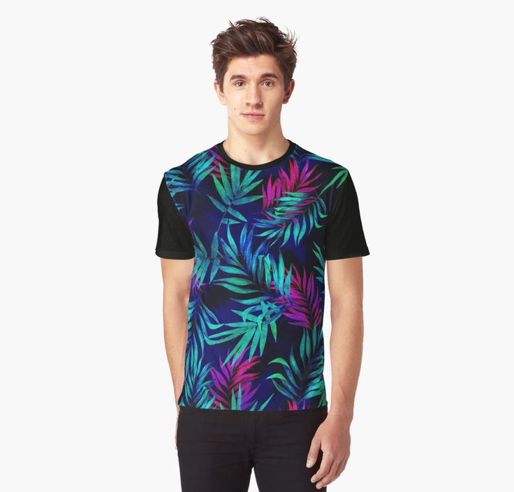 Graphic T-Shirts Tropical Leaf ll by talipmemis