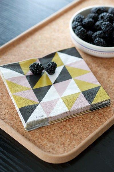amazing napkins: Paper Napkins, Fermliving, Ferm Living, Pattern, Kitchen