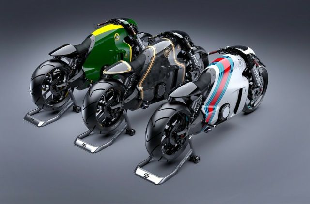 超攻撃的な流線型フォルム、ロータス社初のスーパーバイク「C-01」が公開 - DNA