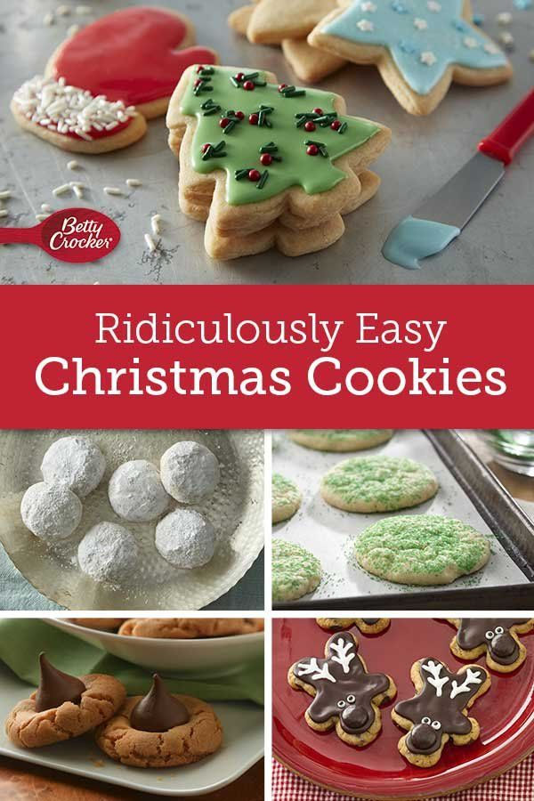 Ridiculously Easy Christmas Cookies Betty S Holiday Recipes Xmas
