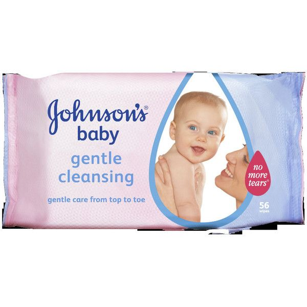Johnson's Baby Gentle Cleansing Wipes 56 pack ($5.59) ❤ liked on Polyvore featuring baby, baby stuff, baby clothes, baby things and baby wipes