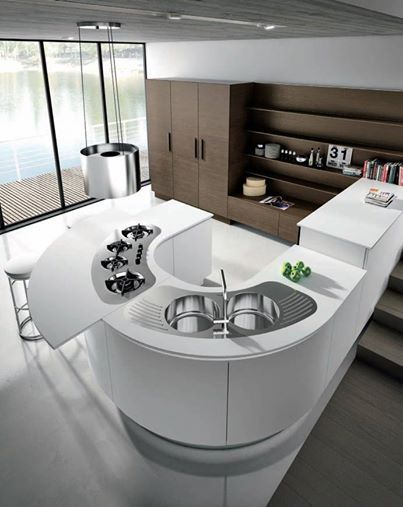13 best Modern Kitchens images on Pinterest | Contemporary unit ...