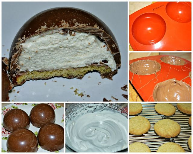 Chocolate and Marshmallow tea cake mould from Lakeland on review.