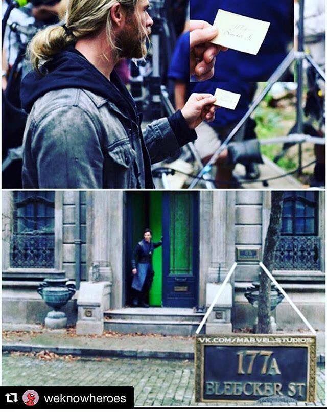 Doctor strange in Thor Ragnarok