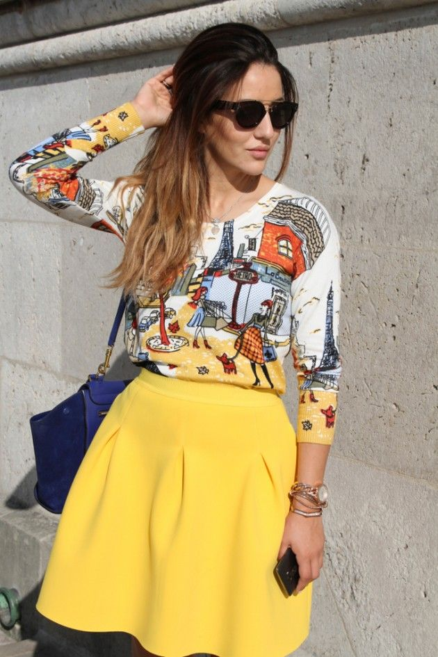 7 Spring 2015 Fashion Trends You Should Follow YELLOW