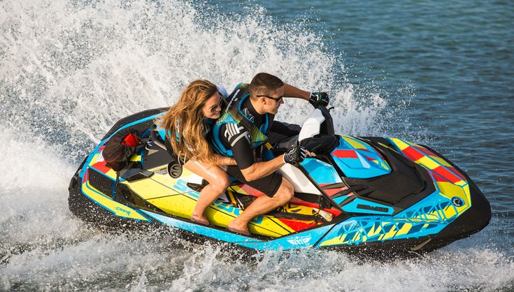 2017 Sea-Doo Spark Action Speed