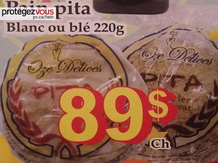 «À ce prix-là, il est mieux d'être bon, ce pain pita!», s'exclame notre lectrice.