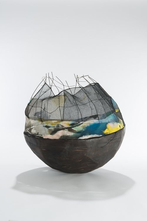 Jérôme Pereira & Sylvia Eustache Rools. Sculpture textile et bois.  Abstraction. Volume.