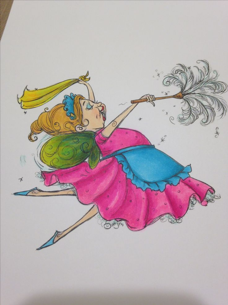 Mo Manning....Dusting fairy