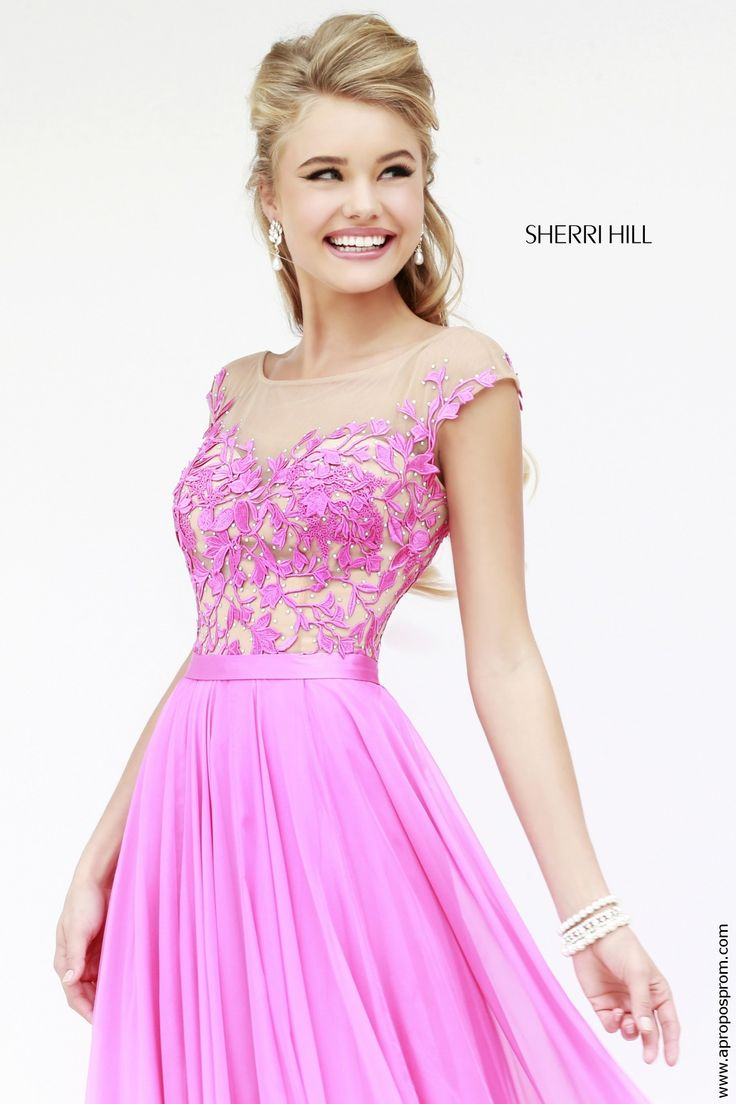 37 best Sherri Hill Prom 2015 images on Pinterest | Prom dresses ...