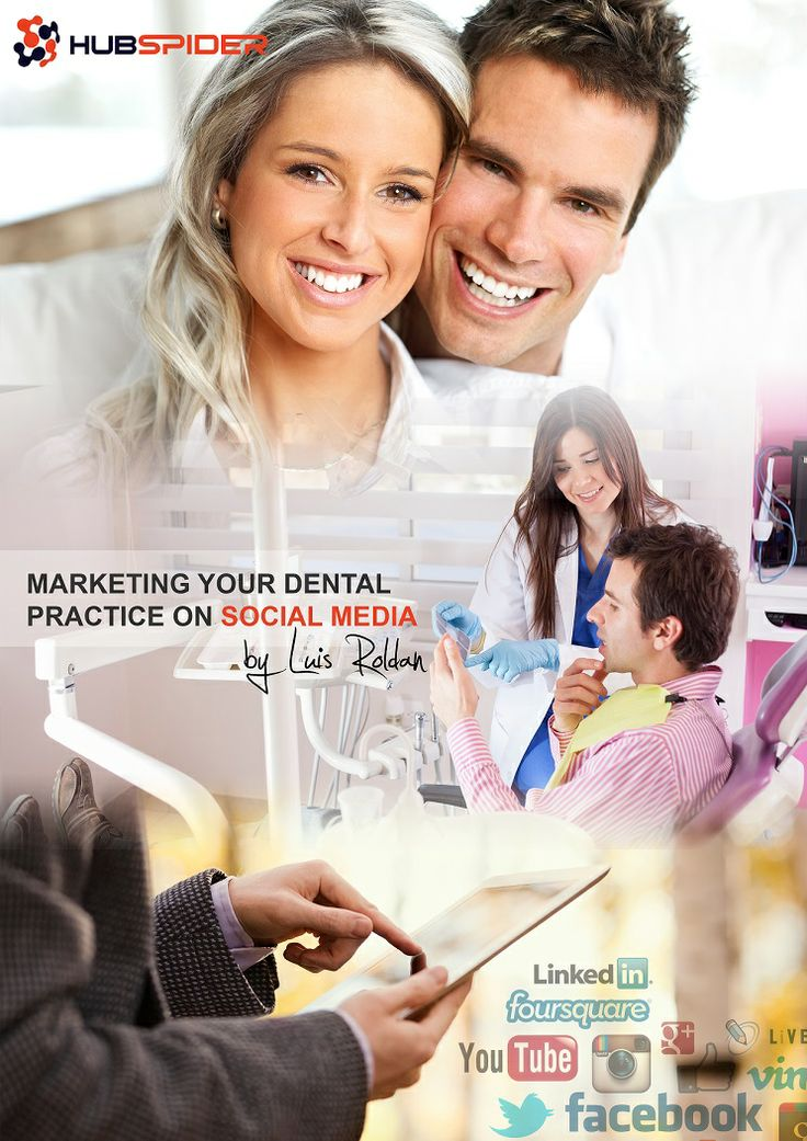Social Media ebook: Marketing Your Dental Practice on Social Media. If you want to know hot to get a copy, write to: service@hubspider.com
