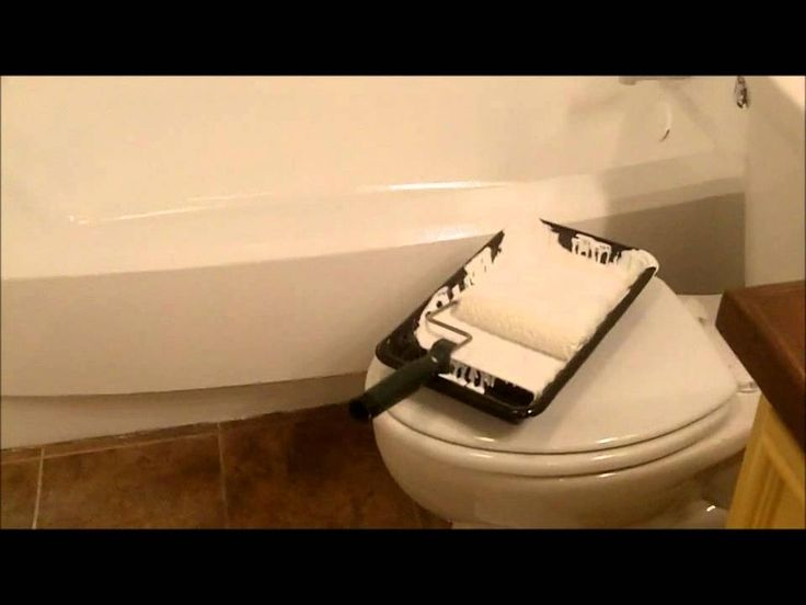 How To Paint A Bathtub  DIY decorating  Pinterest  Painting bathtub Home repairs and Clean