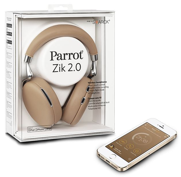 Parrot Zik 2.o Wireless Bluetooth Noise Cancelling Headphones - Oh my goodness these would be amazing to have.