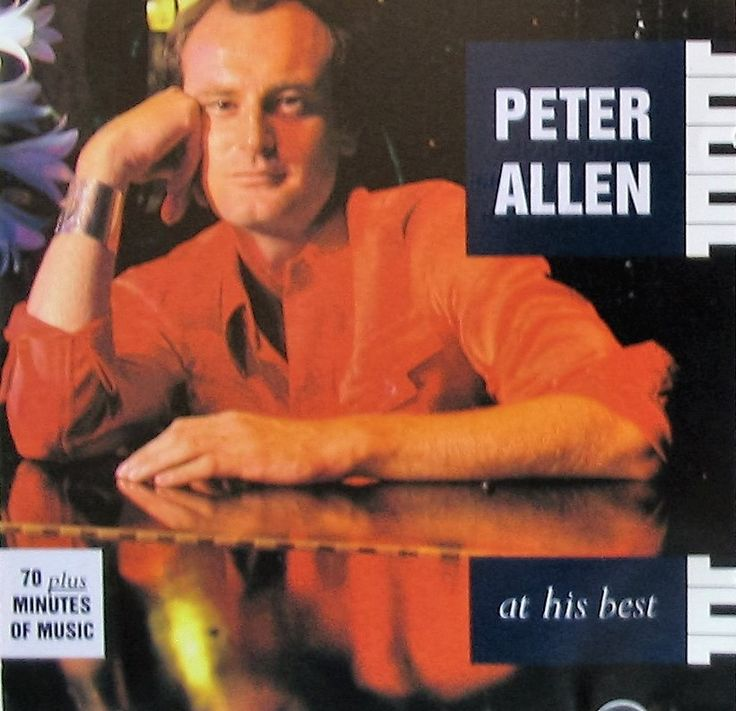 """PETER ALLEN ~ 1993 CD """"At His Best"""" commercial stock compilation album release (A&M 0090-2) in LIKE-NEW COND. (no marks, no scratches, no fingerprints).  ($24.99)  Amazon.com"""