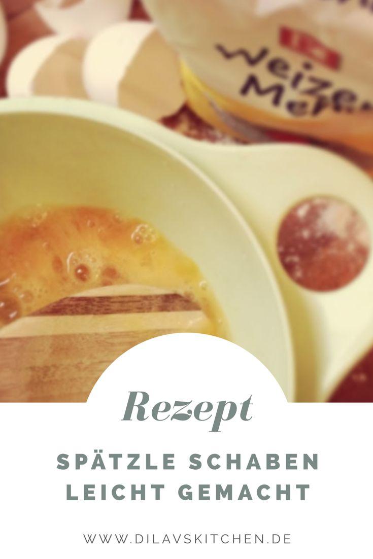 Drückst du dich auch noch davor, Spätzle selbst zu schaben? Dabei ist es doch so easy, die schwäbische Spezialität zu Hause hinzubekommen. Du brauchst noch nicht einmal spezielles Equipment. Wie es genau geht, erkläre ich dir hier: http://www.dilavskitchen.de/handgeschabte-spaetzle/