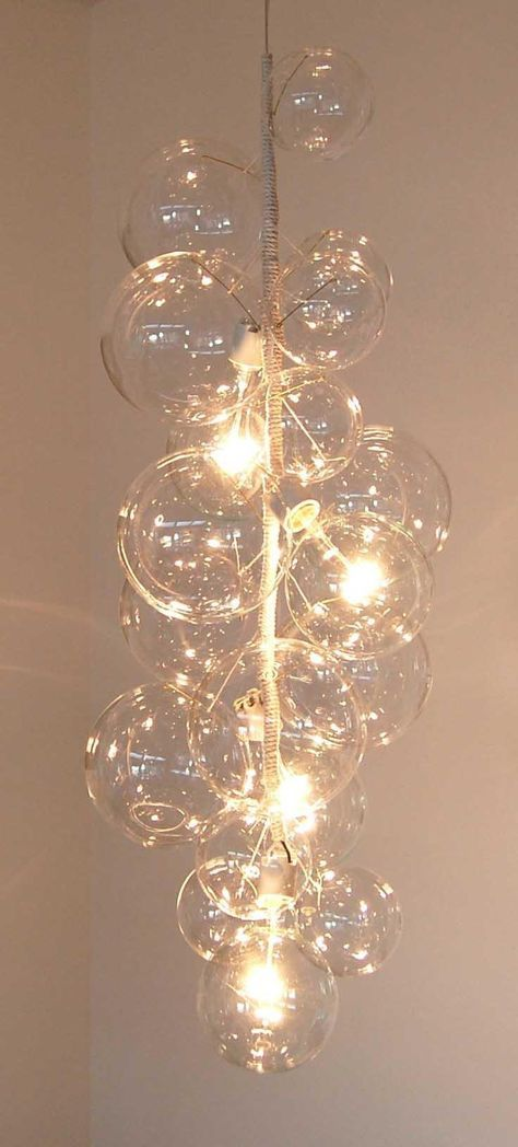 Bubble Glass Chandelier By Solaria Lighting Bubble