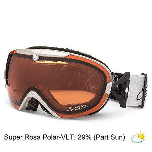 Carrera Mirage Women's ski snowboard Goggles Polarized Lens NEW