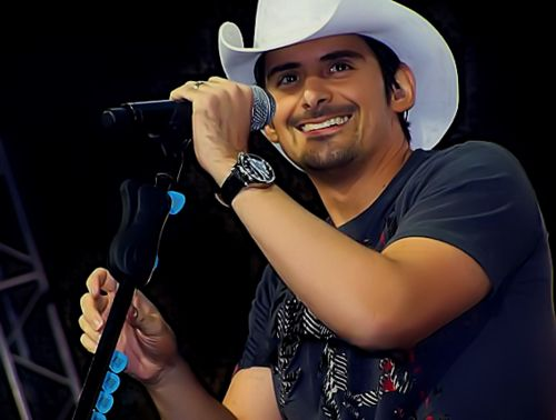 Brad Paisley...several times! One of the BEST concerts I've been to!