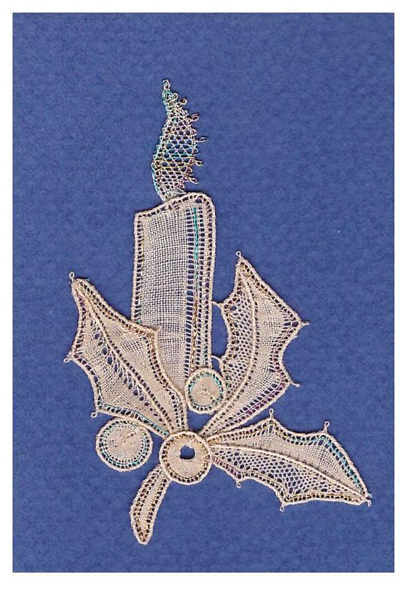 Bobbin Lace Withof Duchesse One of by LoesManfredCreations on Etsy