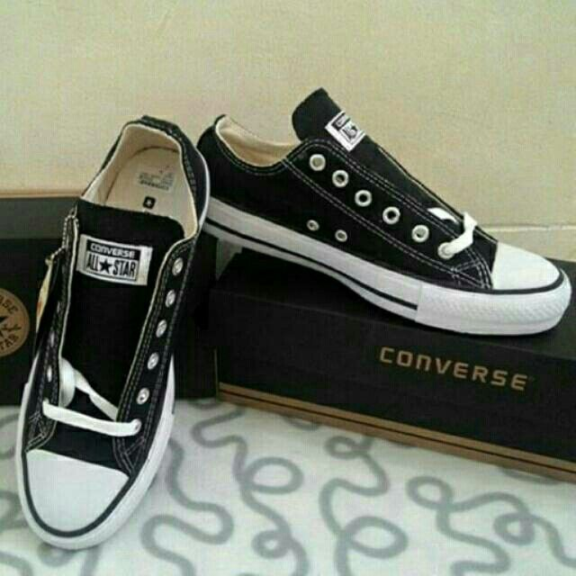 Saya menjual Converse Low Black seharga Rp155.000. Dapatkan produk ini hanya di Shopee! https://shopee.co.id/deventostore/6690397 #ShopeeID