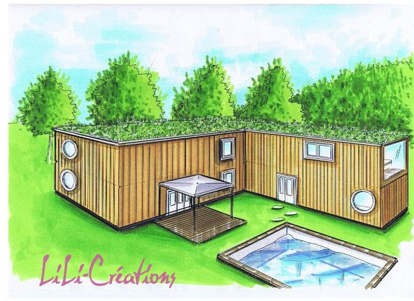 Maison container 39 optimiser pinterest container for Maison container 35
