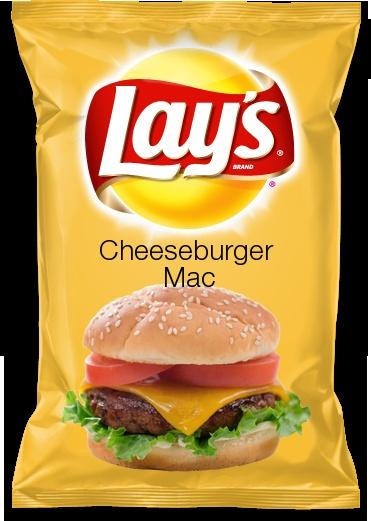 Cheeseburger Mac---my flavor in Lay's flavor contest!!