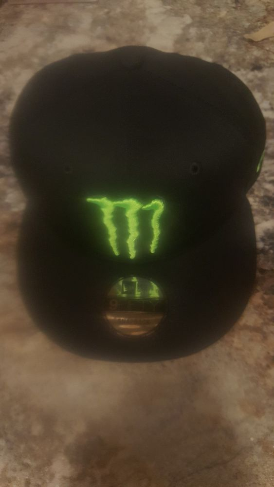 457753e2f0f MONSTER ENERGY CAP by NEW ERA- 9FIFTY Snapback Solid black W LOGOS BRAND NEW   fashion  clothing  shoes  accessories  mensaccessories  hats (ebay link)