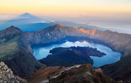 Rinjani Mountain.., Lombok, Indonesia