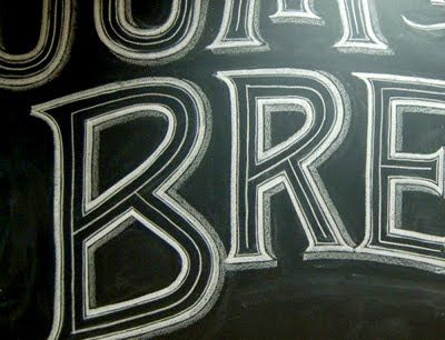 chalk lettering - Google Search