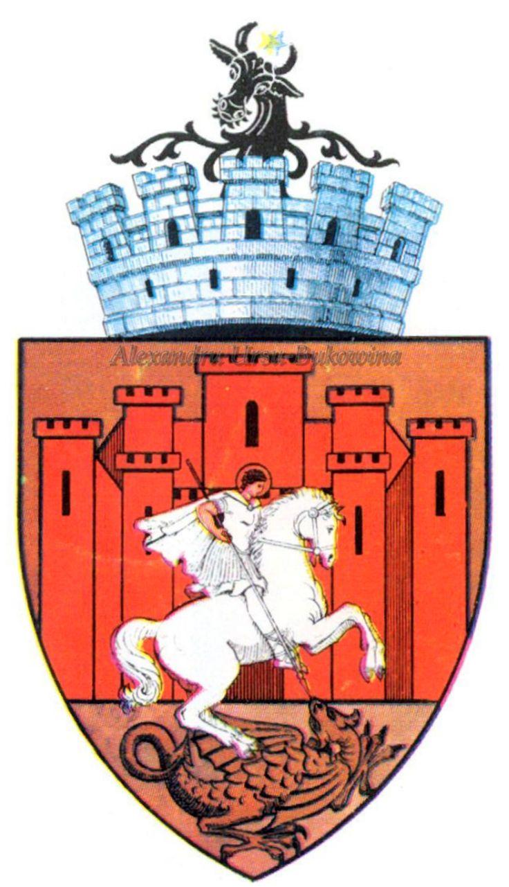 Stema orașului Suceava.