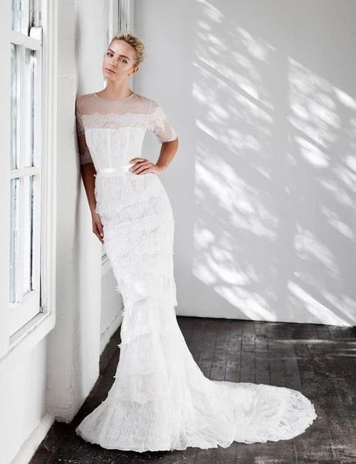 Modest Wedding Dresses Massachusetts : Dress wedding bridal inspiration posts modest