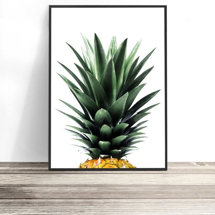 Pineapple Art Print | Pineapple Photography | Tropical Home | Beach Decor | Tropical Wall Art | Dining Room Decor | Kitchen Decor | Coastal Art | Tropical Art Print | Coastal Chic | Wall Art by Little Ink Empire