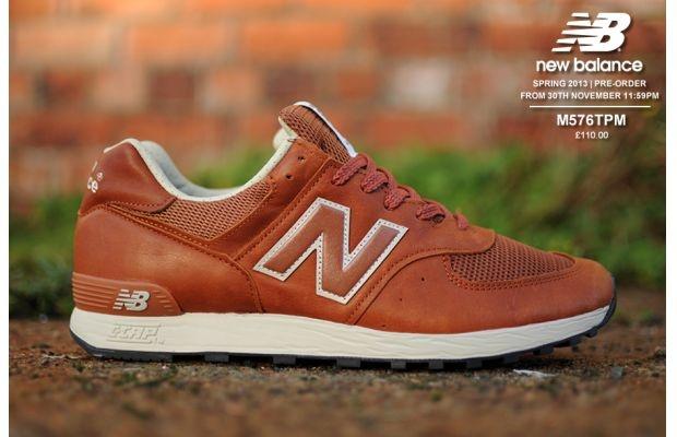 "New Balance 576 ""Tan Leather"""