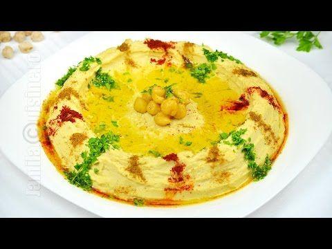 Hummus libanez reteta video   JamilaCuisine