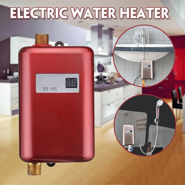 Electric Water Heater Instant Tankless 110v 220v 3 8kw Us Purchase Online Shop Electric Water Heater Tankless Water Heater Water Heater