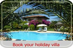 Book your holiday villa through us to make your holiday special
