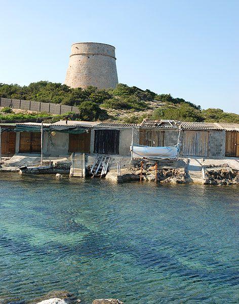Parque natural de ses salines las salinas Ibiza