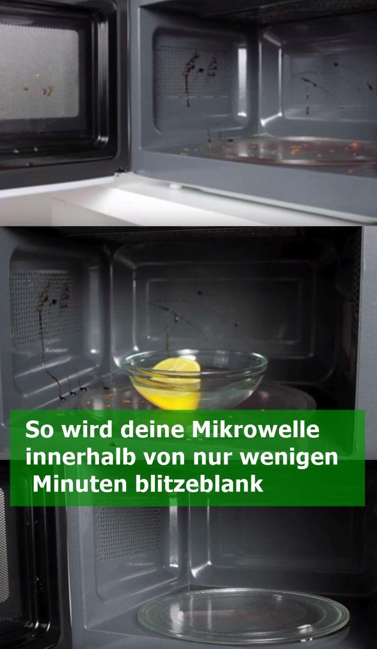So wird deine Mikrowelle innerhalb von nur wenigen Minuten blitzeblank   njuskam…