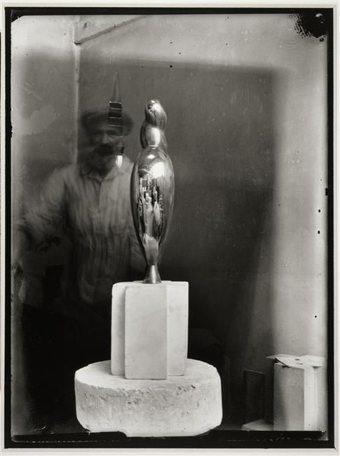 Constantin Brancusi (Romanian sculptor) in his Studio in Paris, 1928-1932 http://www.pinterest.com/ca2551/constantin-brancusi/