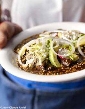 Poulet au mole poblano pour 6 personnes - Recettes Elle à Table