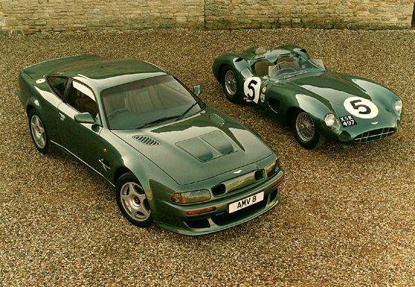 1999 Aston Martin Vantage Le Mans y Aston Martin DBR1