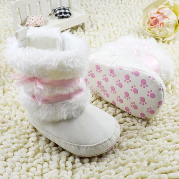 Want these for Lily! Baby Girl Boots