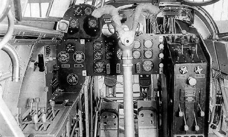 Ju-89 cockpit